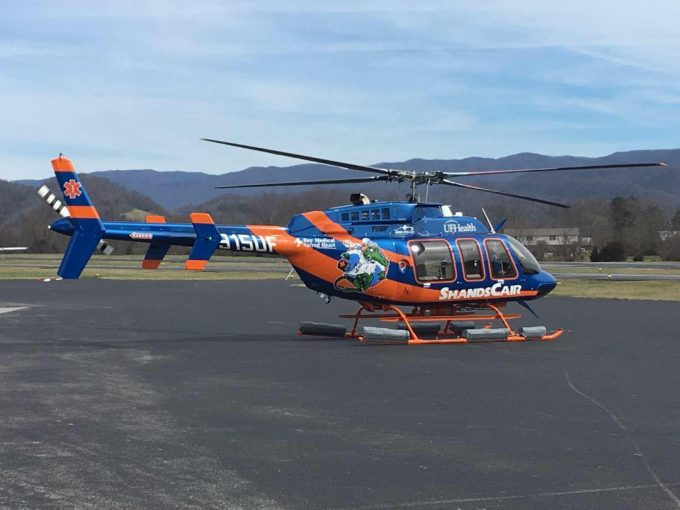 ShandsCair 5 helicopter